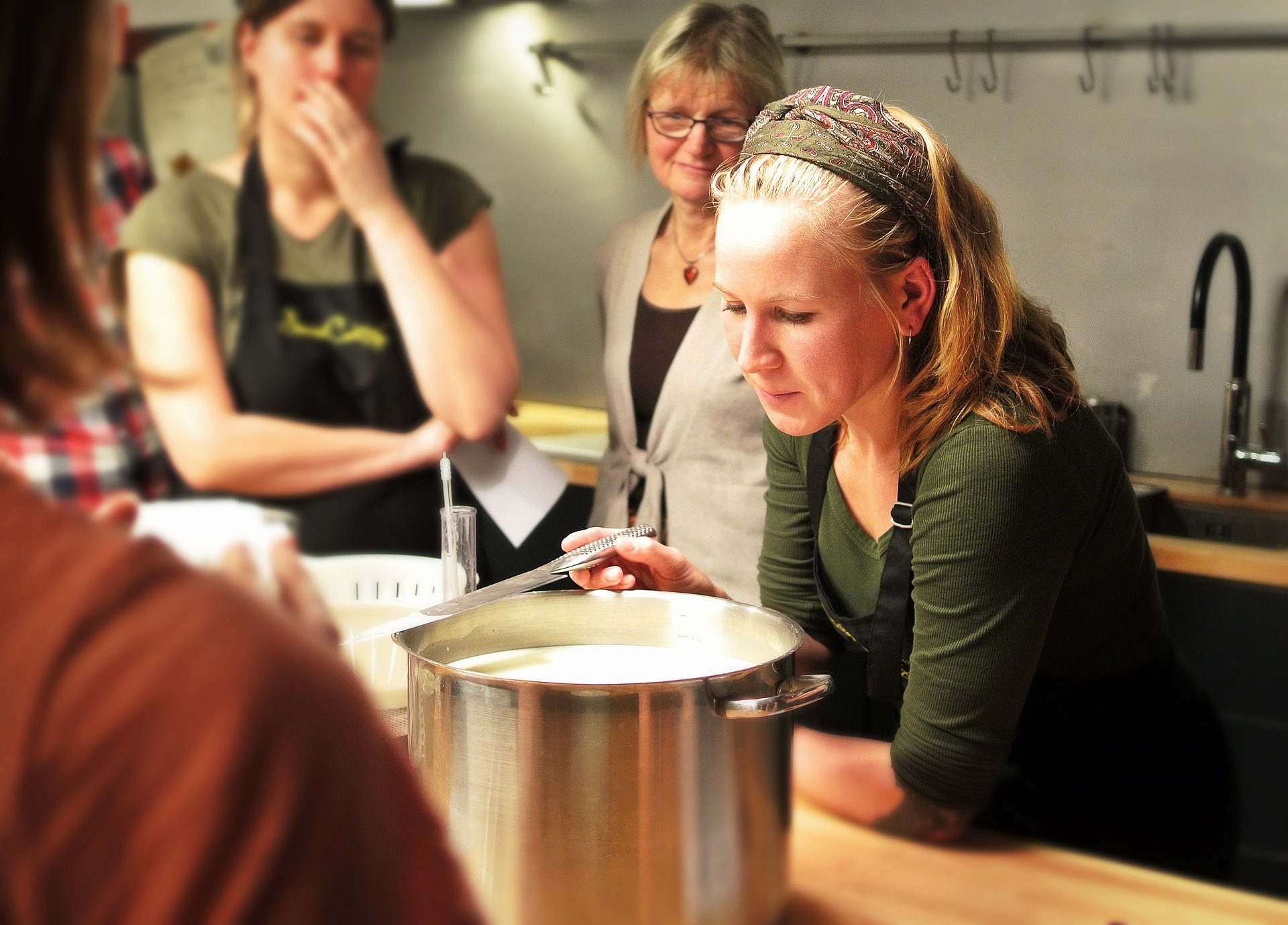 expérience de team building en cuisine?
